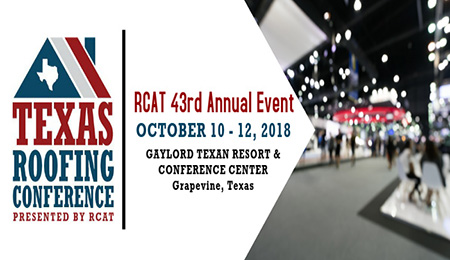 Texas Roofing Conference Presented by RCAT